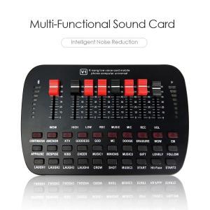 V1 ライブサウンドカード USB 外部オーディオミキサー|synergy2