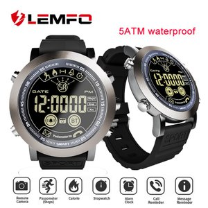 LEMFO LF23 Bluetooth スポーツ スマートウオッチ 歩数計 カロリー消費 着信通知 リモートカメラ iOS Android対応|synergy2