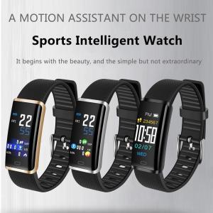 0.96インチ タッチスクリーン スマートブレスレット スポーツインテリジェント腕時計 活動量計 心拍数 血圧 血中酸素量 スリープモニター|synergy2