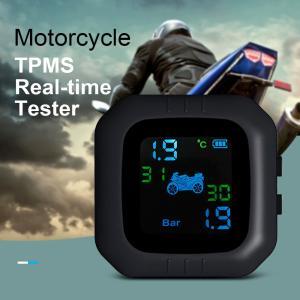 オートバイ用 TPMS (Tire Pressure Monitoring System) ワイヤレス タイヤ 空気圧 温度 モニタリングシステム|synergy2