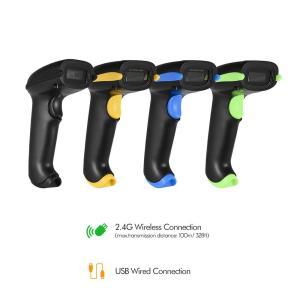 2-in-1 Wi-Fi & USB 1次元 2次元 QRコード バーコードリーダー スキャナー オートスキャン対応 synergy2