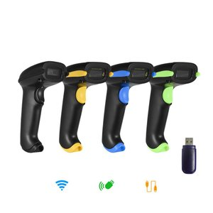 3-in-1 Bluetooth & Wi-Fi & USB 1次元 2次元 QRコード バーコードリーダー スキャナー オートスキャン対応 synergy2