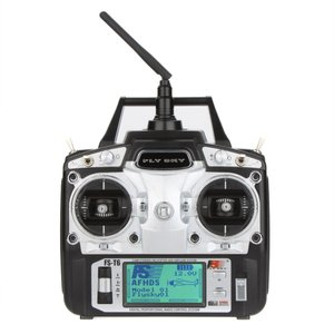 FLYSKY FS-T6 2.4GHZ 6CH LCD 送信機(プロポ) AND レシーバー システム モード 2 synergy2