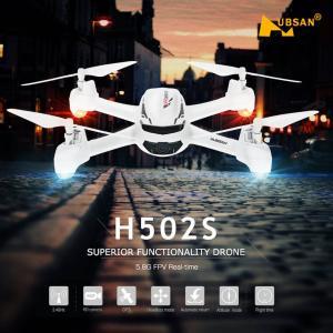 Hubsan H502S 4CH 6軸ジャイロ  5.8G FPV 720P HDカメラ クアッドコプター ドローン synergy2