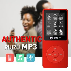 Ruizu X02 MP3 MP4 音楽・動画プレーヤー 8GB synergy2