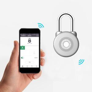 Bluetooth スマート キーレスロック IP65防水 南京錠 Android iOS スマホ対応 ステンレス synergy2