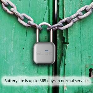 スマート キーレスロック 南京錠 iOS Android スマホ対応 IP66 防塵 防水 ステンレス synergy2