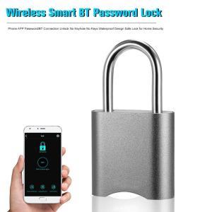 Android iOS対応 Bluetooth パスワード スマート キーレスロック 南京錠 IP65 防塵 防水 synergy2