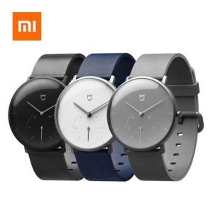 Xiaomi Bluetooth アナログ クオーツ スマートウオッチ ダブルダイアル 腕時計 歩数計|synergy2