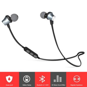 Bluetooth インイヤー ハンズフリー ワイヤレスステレオイヤホン microSDカード MP3プレーヤー きしめんケーブル synergy2