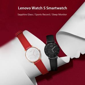 Lenovo Bluetooth アナログ クオーツ スマートウオッチ 腕時計 フィットネスキーパー|synergy2