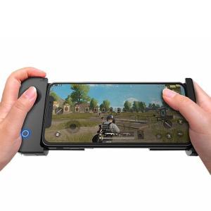 iOS Androidスマホ対応 Bluetooth 4.0 ワイヤレス シングルハンド ゲームパッド コントローラー FPS PUBGゲーム対応|synergy2