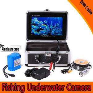 フィッシュファインダー 水中ビデオカメラシステム  7インチ TFT 液晶 モニター 800 TVライン HD 20mケーブル 釣り道具|synergy2