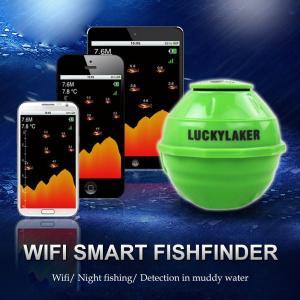 スマートソナー ワイヤレス Wi-Fi フィッシュファインダー 魚群探知 iOS Android対応|synergy2