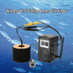 ワイヤレス Wi-Fi 水中魚群探知カメラ フィッシュファインダー   200m iOS Android対応 1000TVL 140°広角レンズ|synergy2