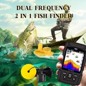 2.8インチ カラー液晶魚群探知機 デュアルソナー 100m深度|synergy2
