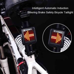 自転車用 64LED インテリジェントライト ストップライト 方向指示|synergy2