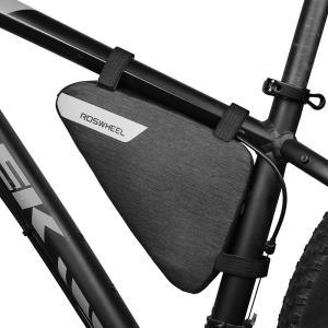 ROSWHEEL 自転車 フレームバッグ 1.5L PBT 防水素材|synergy2