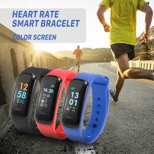 IPSカラースクリーン フィットネス スマートバンド ブレスレット心拍計 血圧 歩数計 スリープモニター|synergy2