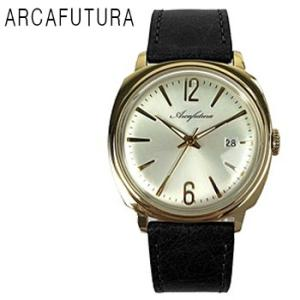 ARCAFUTURA アルカフトゥーラ 日付カレンダー 機能付き 腕時計 メンズ 送料無料 1年保証  クォーツ 腕時計 BOX 保証書付き synergyselect