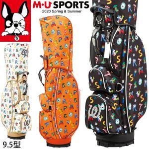 2020春夏新作 M U SPORTS MUスポーツ ゴルフバッグ レディース レギュラーソール キャディバッグ 9.5型   NEW MU20SS M0205|synergyselect