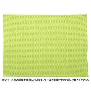 バスマット 『ワッフル』 グリーン 約45×60cm 3448119|synergyselect