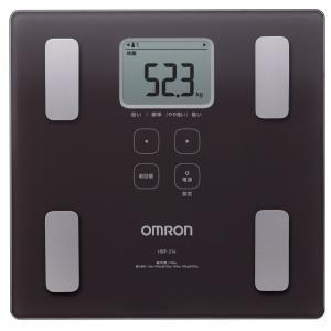送料無料 オムロン 体重・体組成計 カラダスキャン ブラウン HBF-214-BW|synergyselect