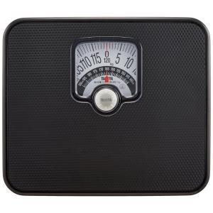 タニタ 体重計 アナログ ブラック BMIチェッカー付き ブラック|synergyselect
