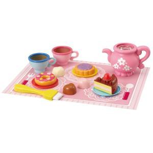 送料無料 カフェ おままごと セット ケーキ スイーツ 食器 まほうのティーセット ままごと おやつ