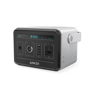 ポータブル電源:USBポートからスマートフォンを約40回、ACコンセントからノートパソコンを約15回...