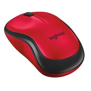 Logicool ロジクール 静音マウス M220RD レッド ワイヤレス クリック音90%以上軽減...