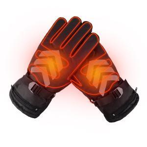 電熱グローブ 充電式 ヒーター手袋 ホットグローブ 裏起毛 防水 防風 バイク 自転車 アウトドア ...