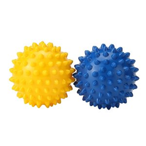 送料無料 2個セット リフレックスボール トレーニンググリップボール 足裏手、背中のマッサージボール...