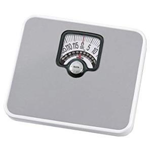 タニタ 体重計 アナログ ブラック BMIチェッカー付き シルバー|synergyselect