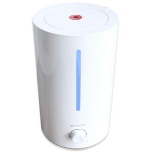 送料無料 4L 超音波式加湿器 大容量 静音 卓上 抗菌 20時間連続加湿 6から20畳適用 上から注水 ミストの吹出が360度 空焚き防止 synergyselect