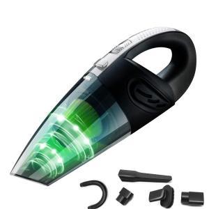 送料無料 ハンディクリーナー 掃除機 USB充電式 コードレスクリーナー 小型掃除機 乾湿両用 クリーナー 強吸引 乾湿両用 8000PA吸引力 synergyselect