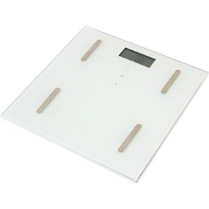 体組成計 35F ホワイト 体脂肪計 体重計 ヘルスメーター 薄型 コンパクト ダイエット ヘルスケア X0111|synergyselect