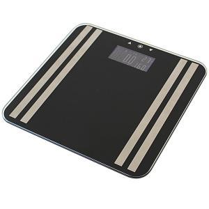 体組成計 40F ホワイト 体脂肪計 体重計 ヘルスメーター 薄型 コンパクト ダイエット ヘルスケア X0111|synergyselect