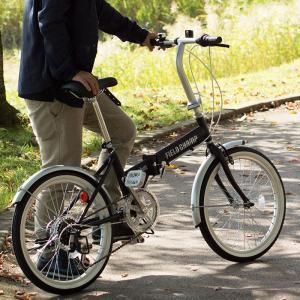折りたたみ 自転車 20インチ FIELD CHAMP シマノ製 6段変速 20インチ 折りたたみ自転車 ブラック  X0111|synergyselect