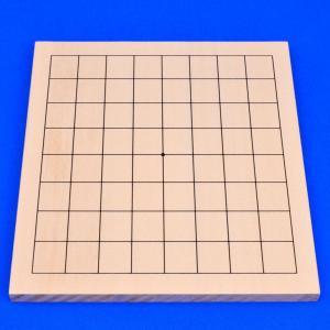 囲碁盤 木製新桂9路盤