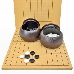 ■囲碁盤:13路9路囲碁盤 新桂 ・囲碁盤の材質:木製 新桂材(アガチス材) ・囲碁盤のサイズ:横幅...