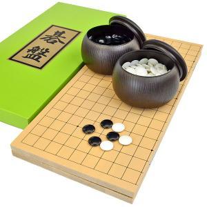 ■囲碁盤:折碁盤新桂5号 ・囲碁盤の材質:木製 新桂材(アガチス材) ・囲碁盤のサイズ  天面横幅 ...