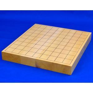将棋盤 日本産本榧1寸9分ハギ卓上将棋盤【MS7】