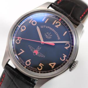 10倍ポイント/STRUMANSKIE(シュトルマンスキー)STRELA(ストレラ)復刻 限定/ガガーリン(Gagarin) チタニウムモデル 2609/3707129 腕時計[正規輸入品]|syohbido-store
