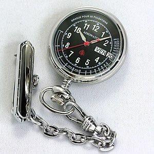 10倍ポイント/アエロナースウォッチ(看護士用時計)32825PD03ブラック[正規輸入品]|syohbido-store