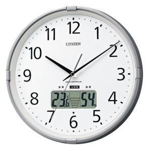 10倍ポイント/あすつく/CITIZENシチズン環境目安表示機能付電波掛け時計インフォームナビS4fy621019|syohbido-store