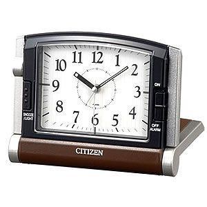 10倍ポイント/CITIZEN/シチズン置時計/携帯用アラームトラベラー/4GE963006|syohbido-store