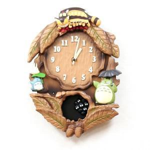 10倍ポイント/リズムとなりのトトロキャラクター掛け時計トトロM837N4MJ837MN06|syohbido-store