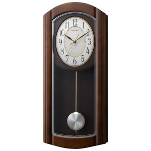 リズム報時付き電波掛け時計RHG-M954mn475hg06|syohbido-store