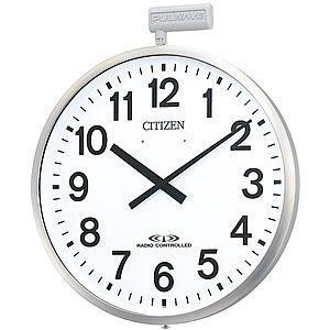 10倍ポイント/CITIZE/シチズン10年電池式・屋外用電波壁掛け時計パルウェーブ【4MY611B19】|syohbido-store
